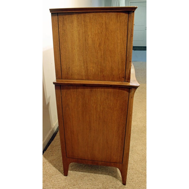 Mid-Century Danish Modern Drexel Dateline John Van Koert Tall Chest - Image 6 of 11