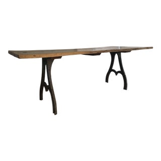 Rustic Live Edge Dining Table