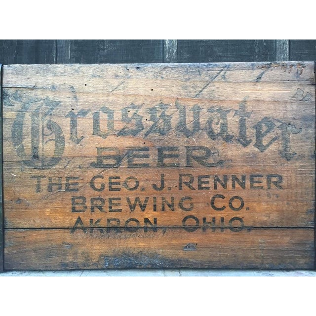 Grossvater Beer Crate - 1920s For Sale - Image 9 of 9