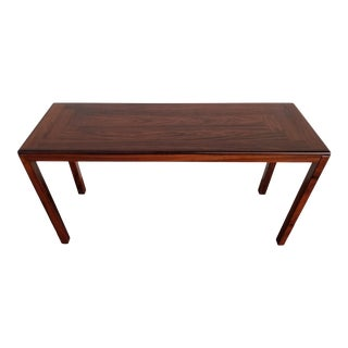 Rosewood Danish Modern Console / Sofa Table For Sale