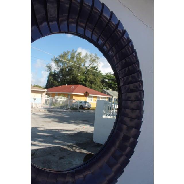 Sunburst Purple Wall Mirror - Image 8 of 11