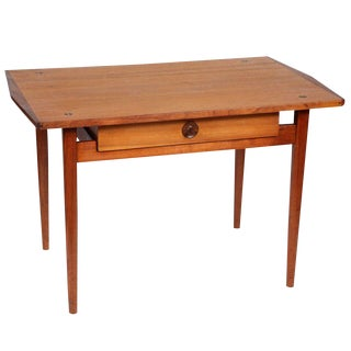 1950s Mid-Century Modern John Kapel Hand Crafted Side Table With Drawer For Sale