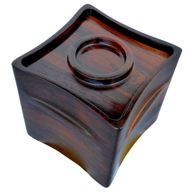 Mid-Century Modern Rosewood Ice Bucket by Jens Quistgaard for Dansk For Sale - Image 3 of 7