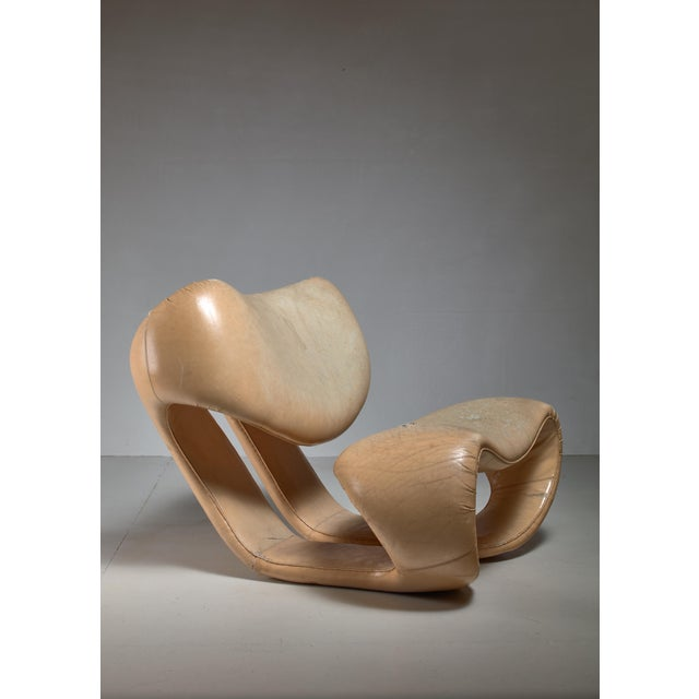 Mid-Century Modern Vittorio Introini Lounge Chair for Saporiti, Italy, 1970s For Sale - Image 3 of 7