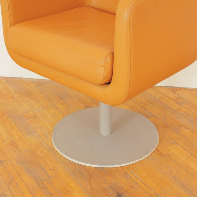 Late 20th Century Loewenstein Cube Swivel Chairs - a Pair For Sale - Image 9 of 11