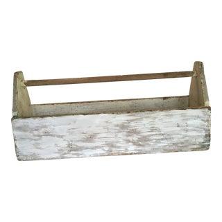 Rustic Farmhouse Wood Tool Carrier