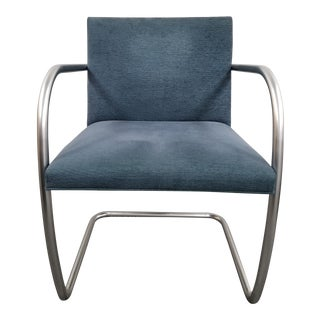 Modern Knoll Blue Brno Chair For Sale