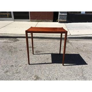 1960s Danish Modern Poul Jensen Teak Side Table Preview