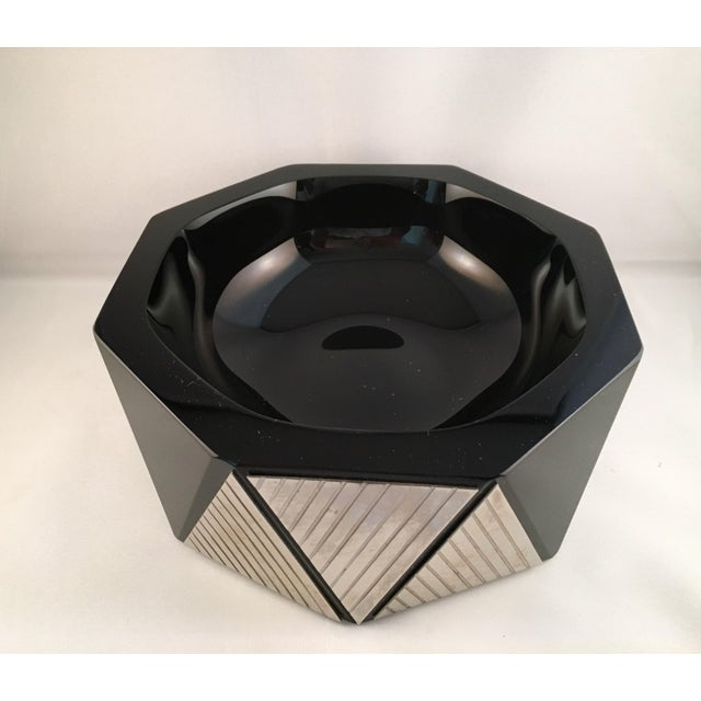 Dara International Art Deco Glass Bowl - Image 2 of 4