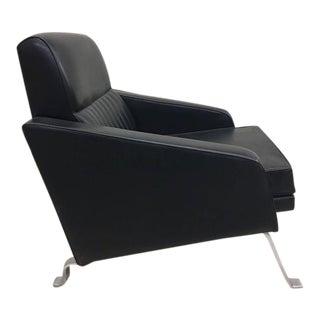 Pair Italian Mid-Century Lounge Chairs, Style of Ignazio Gardella, Diagramma