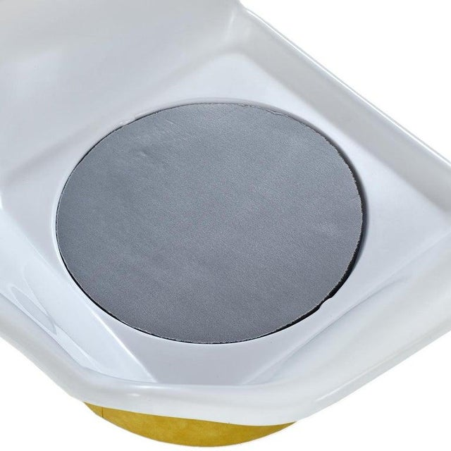White Futorian Decorian Molded Plastic Lemon Candy Shell Italian Modern Lounge Chairs For Sale - Image 8 of 13