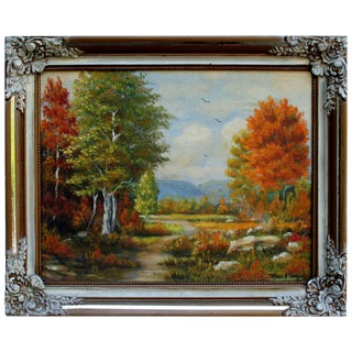 Pleasant Morning Oil Painting by Milton Denlinger