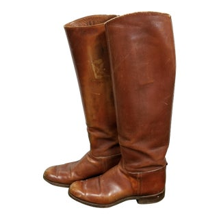 Vintage Riding Boots - A Pair For Sale