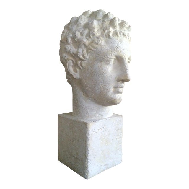 Lifesize Plaster Bust of Hermes For Sale