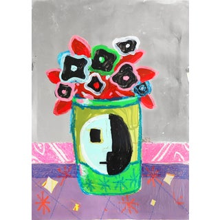 """Flowers From the Bauhaus #323"" Original Artwork by Danny Brown For Sale"