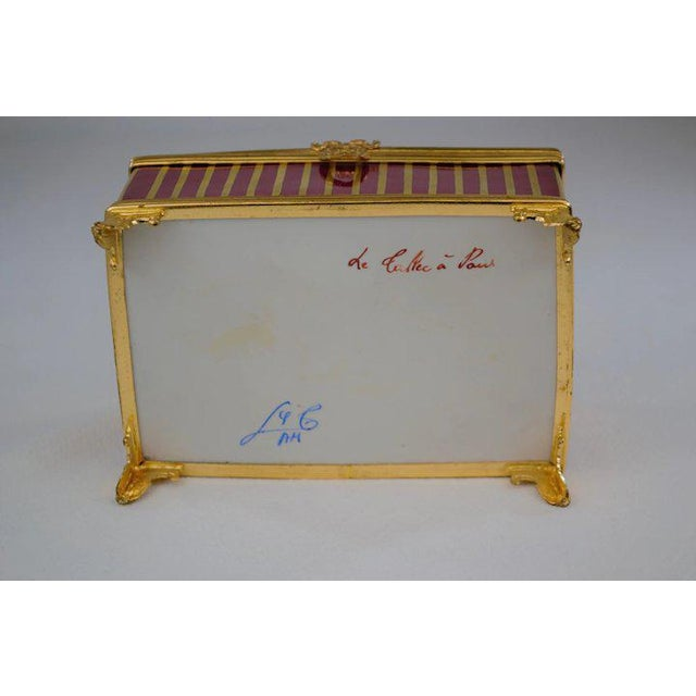 Atelier LeTallec Laque de Chine Porcelain Box For Sale - Image 10 of 12