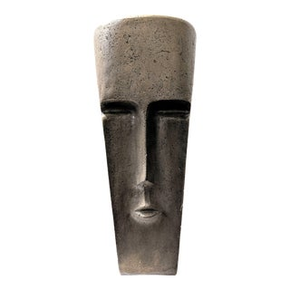 Sculptural Face Accent Table For Sale