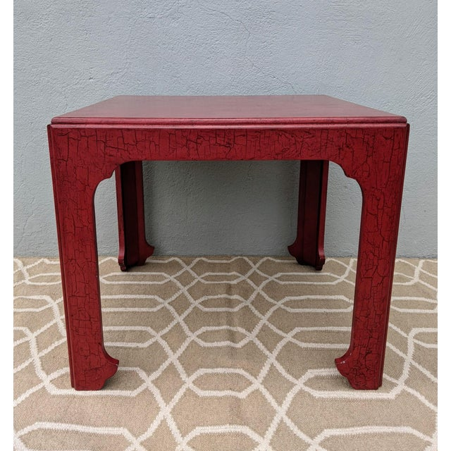 Vintage modern styled table from the 60's-70's made by Baker Furniture. This classic and always popular Asian influence...
