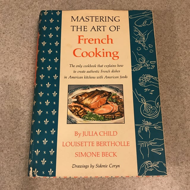 Mastering the Art of French Cooking 1961 1st Edition: Julia Child, Simone  Beck, Sidonie Coryn: Amazon.com: Books