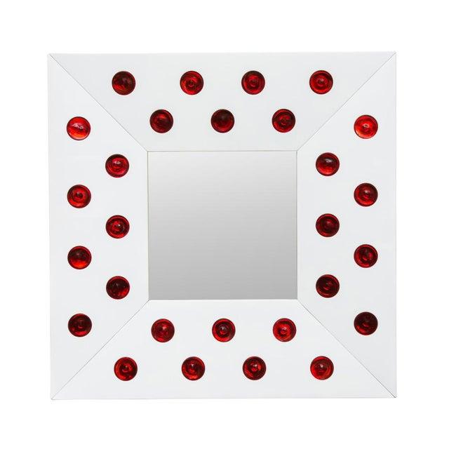 Italian Roberto Giulio Rida Designed Mirror For Sale - Image 3 of 3