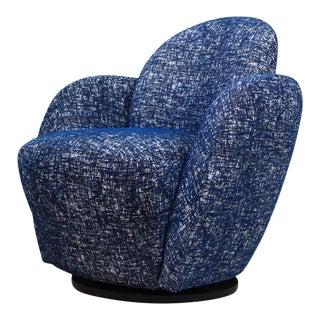 Vladimir Kagan for Directional Swivel Lounge Chair For Sale