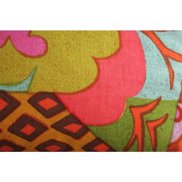 Mid-Century Modern Jack Lenor Larsen Pillow Anthony Ballatore Design Accent Pillow For Sale - Image 9 of 11