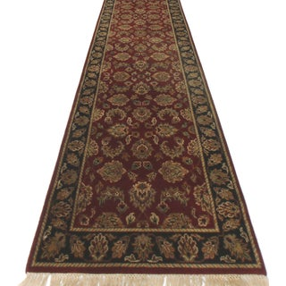 RugsinDallas Persian Style Wool Runner Rug - 2′6″ × 15′10″ For Sale