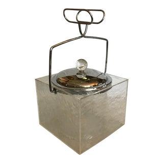 Wilardy Mid Century Lucite Ice Bucket For Sale