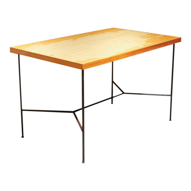 Modernist Dining Table - Image 1 of 8