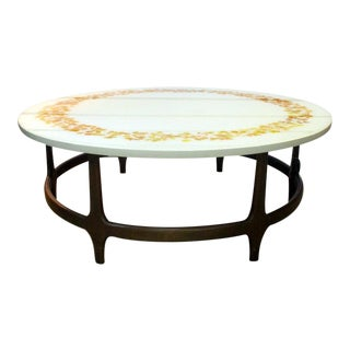 1970s Mid-Century Modern Ron Barnette Coffee Table For Sale