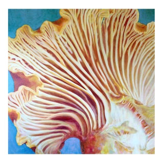 "Original Mushroom Painting by Neicy Frey ""Ace of Disks"""