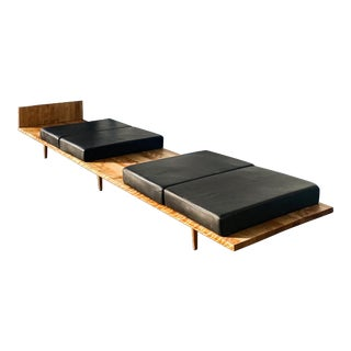 1940s Vintage Maple Bench by Pietro Belluschi For Sale