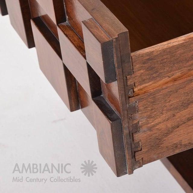 Walnut Mid-Century Modern Lane Nightstand For Sale - Image 7 of 8