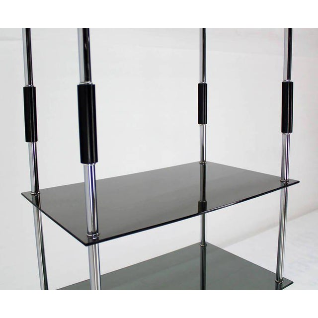 Midcentury Bauhaus Style Etagere For Sale - Image 4 of 10