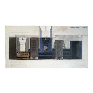 1988 Certaldo the Willow Tea Rooms Poster - Charles Rennie Mackintosh For Sale