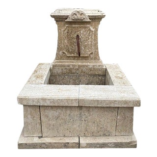 Late 19th Century Antique French Wall Fountain For Sale