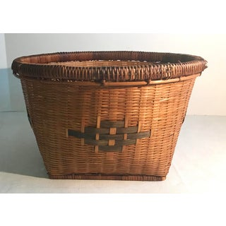 20th Century Chinese Woven Basket Preview