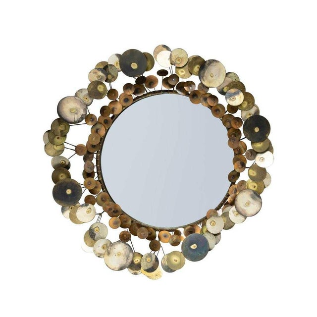 Curtis Jere Raindrop Mirror For Sale In New York - Image 6 of 6