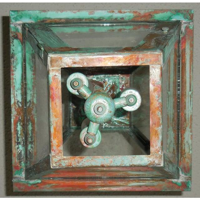 Rustic Copper Hanging Lantern - Image 7 of 10