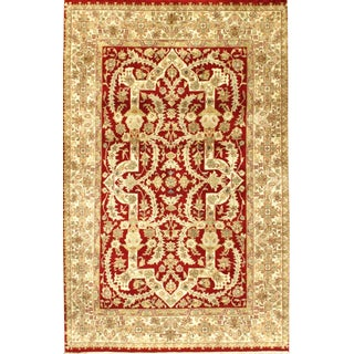 Pasargad Hand Knotted Tabriz Rug - 4′ × 6′ For Sale