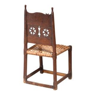 Folk Art Side Chair, Sweden, 18th/19th Century For Sale