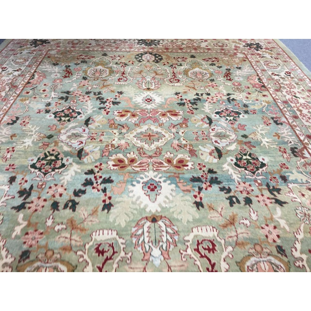 "2000s Indo Persian Tabriz 152""x219"" For Sale - Image 5 of 8"