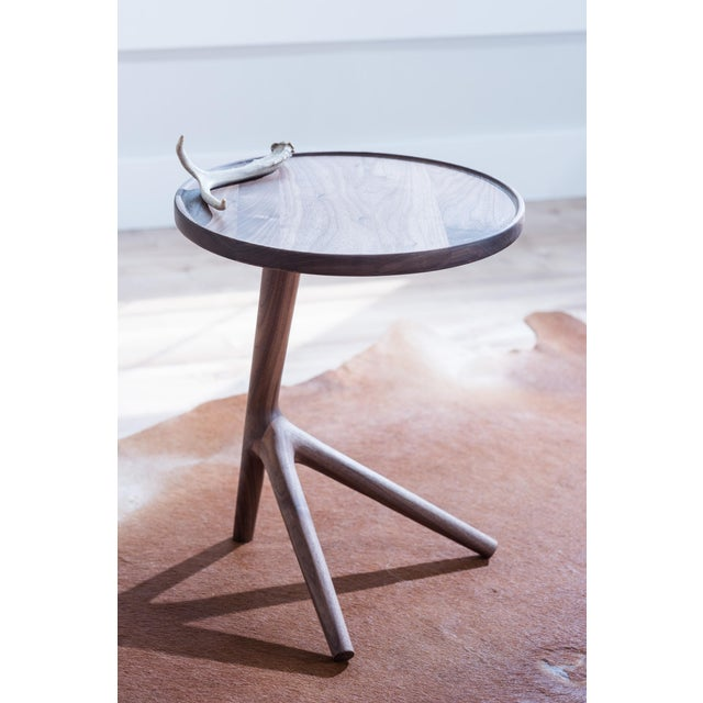 Tripod Nesting End Tables - Set of 3 For Sale - Image 10 of 13
