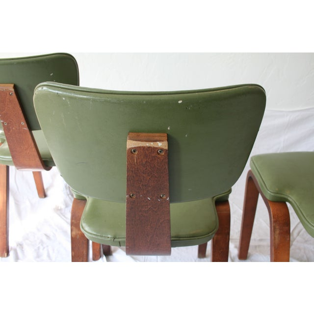 Vintage Thonet Bentwood Chairs - Set of 4 For Sale - Image 7 of 7