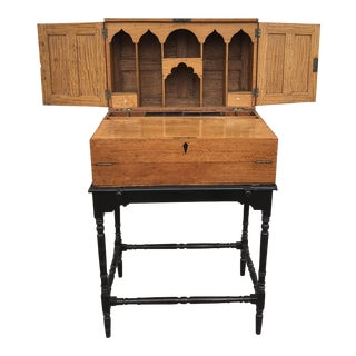 Late 19th Century Anglo Indian Writing Desk For Sale