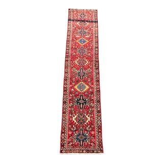 Vintage Persian Karajeh Runner - 2′ × 10′ For Sale