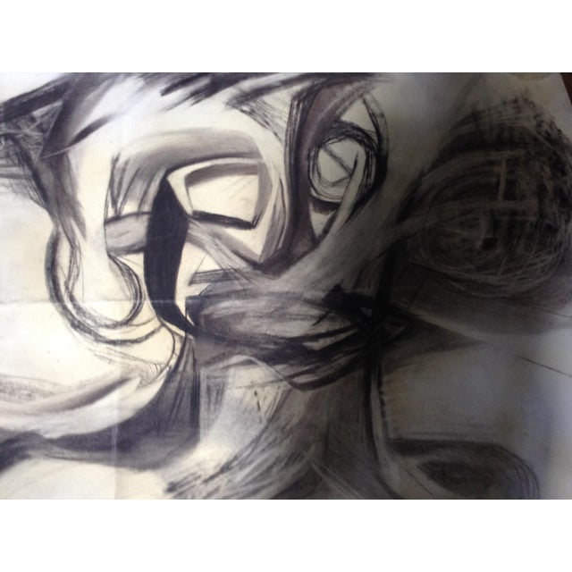 Vintage Abstract No. 1 Charcoal - Image 3 of 4