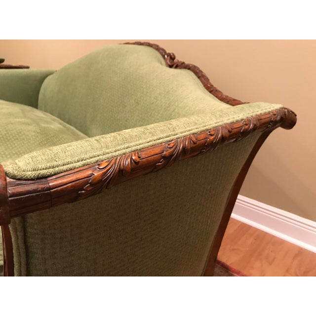 Chippendale Carved Mahogany Sofa - Image 4 of 11
