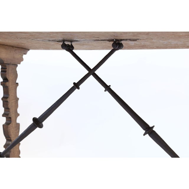 Metal 18th Century Spanish Table For Sale - Image 7 of 13