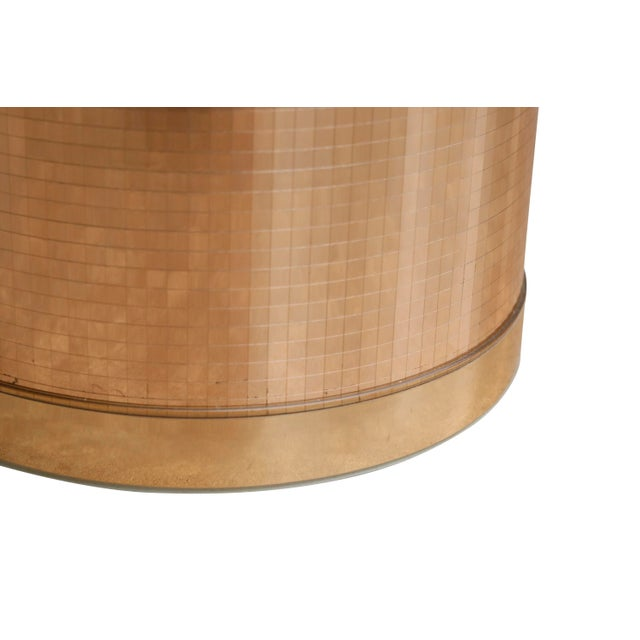 Mid 20th Century Georges Briard Mid Century Modern Gold Ice Bucket For Sale - Image 5 of 7